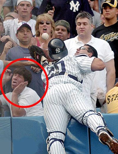 Baseball: Ui, que nojo!