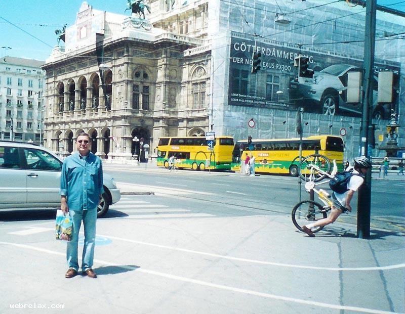 Ciclista desastrado