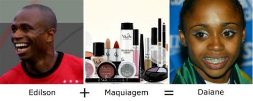 Edilson + Maquiagem = Daiane