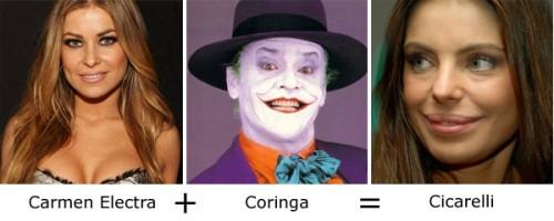Carmen Electra + Coringa = Cicarelli
