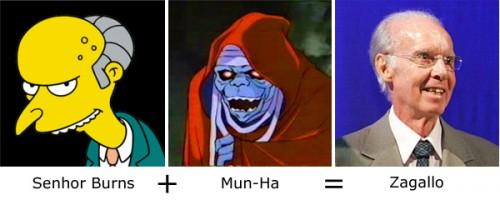 Senhor Burns + Mun Ha = Zagallo
