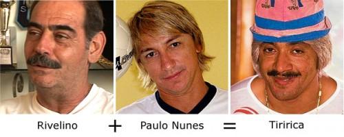 Rivelino + Paulo Nunes = Tiririca