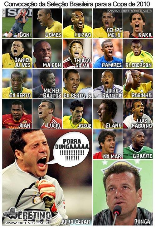 Escalação do Brasil para a Copa do Mundo de 2010